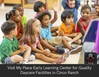 My Place Early Learning Center has been serving Cinco Ranch community and their children since 2009. We are passionate about helping children grow by providing them high quality care-giving.