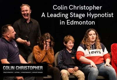 Colin Christopher is known as one of the top stage hypnotists in Edmonton. As a hypnotherapist, he has been featured in hundreds of prominent publications like the LA Times, Daily Mail UK, Metro New York, Psychology Today, and ELLE.